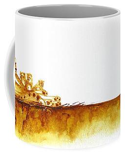 Cheetah Mum And Cubs - Original Artwork Coffee Mug
