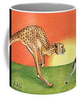 Cheetahroo On The Hunt Coffee Mug
