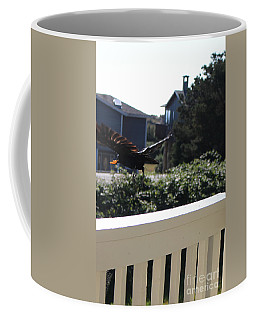 Coffee Mug featuring the photograph Cheeto Bandido by Marie Neder