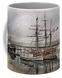 Chelsea Rose And Tall Ships Coffee Mug