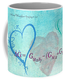 Chemical Thermodynamic Equation For Love Coffee Mug
