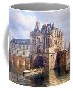 Chenonceau Greetings Coffee Mug by Eric Tressler