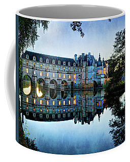 Chenonceau Twilight In Blue - Vintage Version Coffee Mug