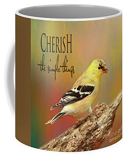 Coffee Mug featuring the photograph Cherish by Darren Fisher