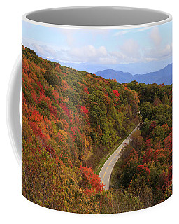 Cherohala Skyway In Nc Coffee Mug