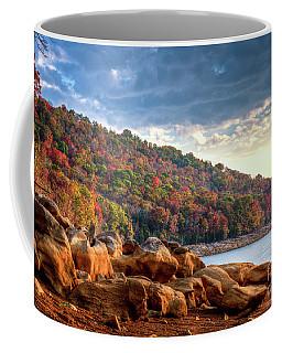 Coffee Mug featuring the photograph Cherokee Lake Color II by Douglas Stucky