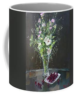 Cherries And Flowers For Her IIi Coffee Mug
