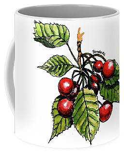 Cherries Coffee Mug by Terry Banderas