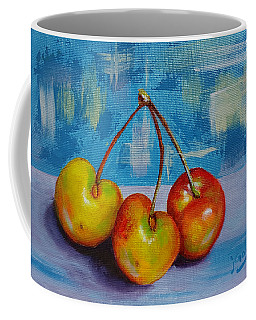 Cherries Trio Coffee Mug
