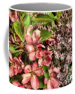 Cherry And Lilac Coffee Mug