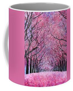 Coffee Mug featuring the painting Cherry Blast by Hailey E Herrera