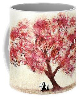 Cherry Blossom And Panda Coffee Mug