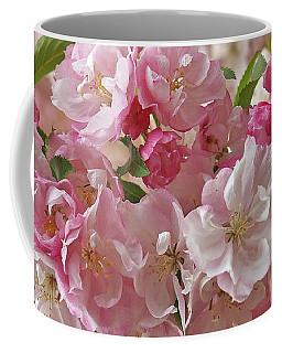 Cherry Blossom Closeup Coffee Mug by Gill Billington