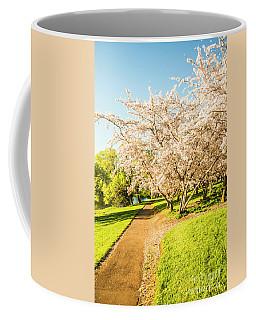 Cherry Blossom Lane Coffee Mug