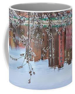 Cherry Blossom Reflections Coffee Mug