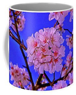 Cherry Blossoms 004 Coffee Mug by George Bostian