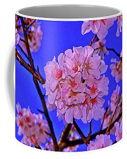 Cherry Blossoms 004 Coffee Mug by George Bostian