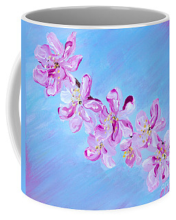 Cherry Blossoms. Thank You Collection Coffee Mug
