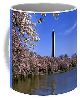Cherry Blossoms On The Tidal Basin 15j Coffee Mug