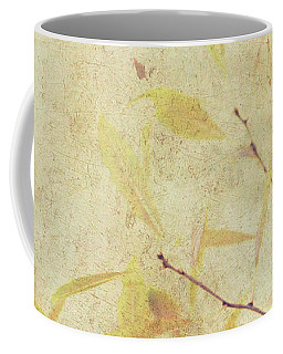 Cherry Branch On Rice Paper Coffee Mug
