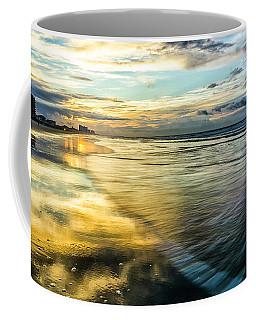 Cherry Grove Golden Shimmer Coffee Mug