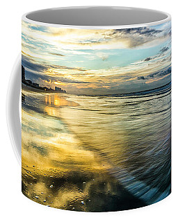 Cherry Grove Golden Shimmer Coffee Mug