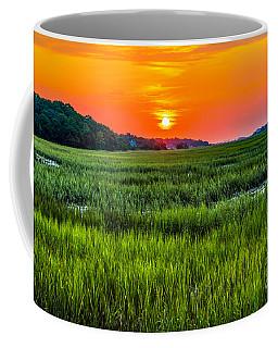 Cherry Grove Marsh Sunrise Coffee Mug