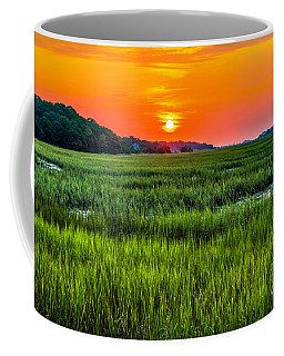 Cherry Grove Marsh Sunrise Coffee Mug