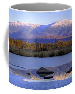 Cherry Pond Reflections Panorama Coffee Mug