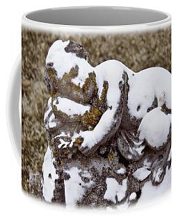 Cherub Stone Coffee Mug