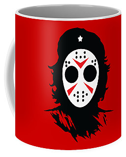 Coffee Mug featuring the digital art Che's Halloween by Christopher Meade