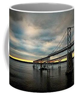 Chesapeake Bay Bridge At Twilight Coffee Mug