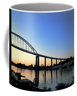 Coffee Mug featuring the photograph Chesapeake City by Melinda Blackman