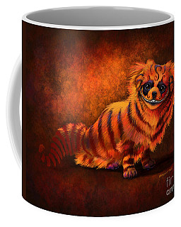 Cheshire Canine Coffee Mug