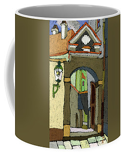 Chesky Krumlov Old Street Latran  Coffee Mug