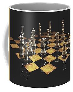 Chess The Art Game Coffee Mug