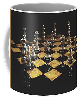 Chess The Art Game Coffee Mug