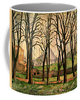 Chestnut Trees At The Jas De Bouffan Coffee Mug