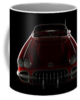 Chevrolet Corvette C1 - Front View Coffee Mug