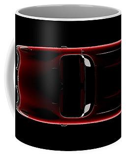 Chevrolet Corvette C1 - Top View Coffee Mug