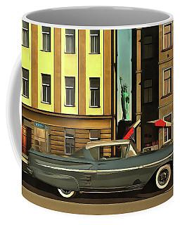 Chevrolette Impala At The Big Apple Coffee Mug