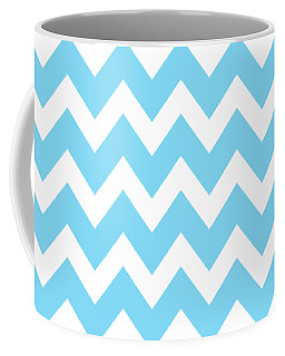 Chevron Pattern - Pick Your Color Coffee Mug