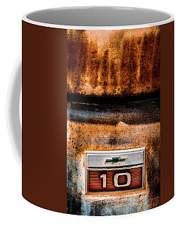 Chevy C10 Rusted Emblem Coffee Mug