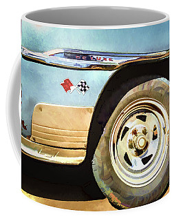 Coffee Mug featuring the photograph Chevy Deluxe by Lou Novick