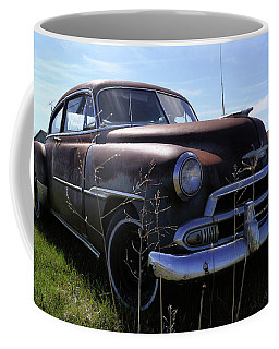 Coffee Mug featuring the photograph Chevy Fleetline Undeluxed by Scott Kingery