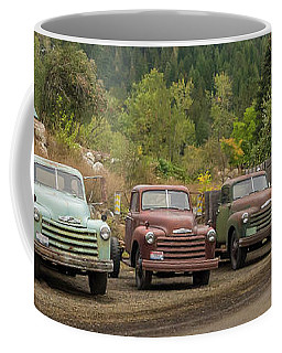 Chevy Line Up Coffee Mug