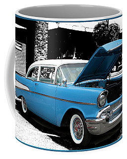 Coffee Mug featuring the photograph Chevy Love by Victoria Harrington