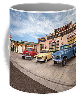Chevys At The Main Street Garage - With Signature  Coffee Mug