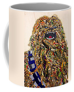 Chewbacca Star Wars Awakens Afrofuturist Collection Coffee Mug by Apanaki Temitayo M