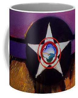 Coffee Mug featuring the painting Cheyenne Autumn by Charles Stuart